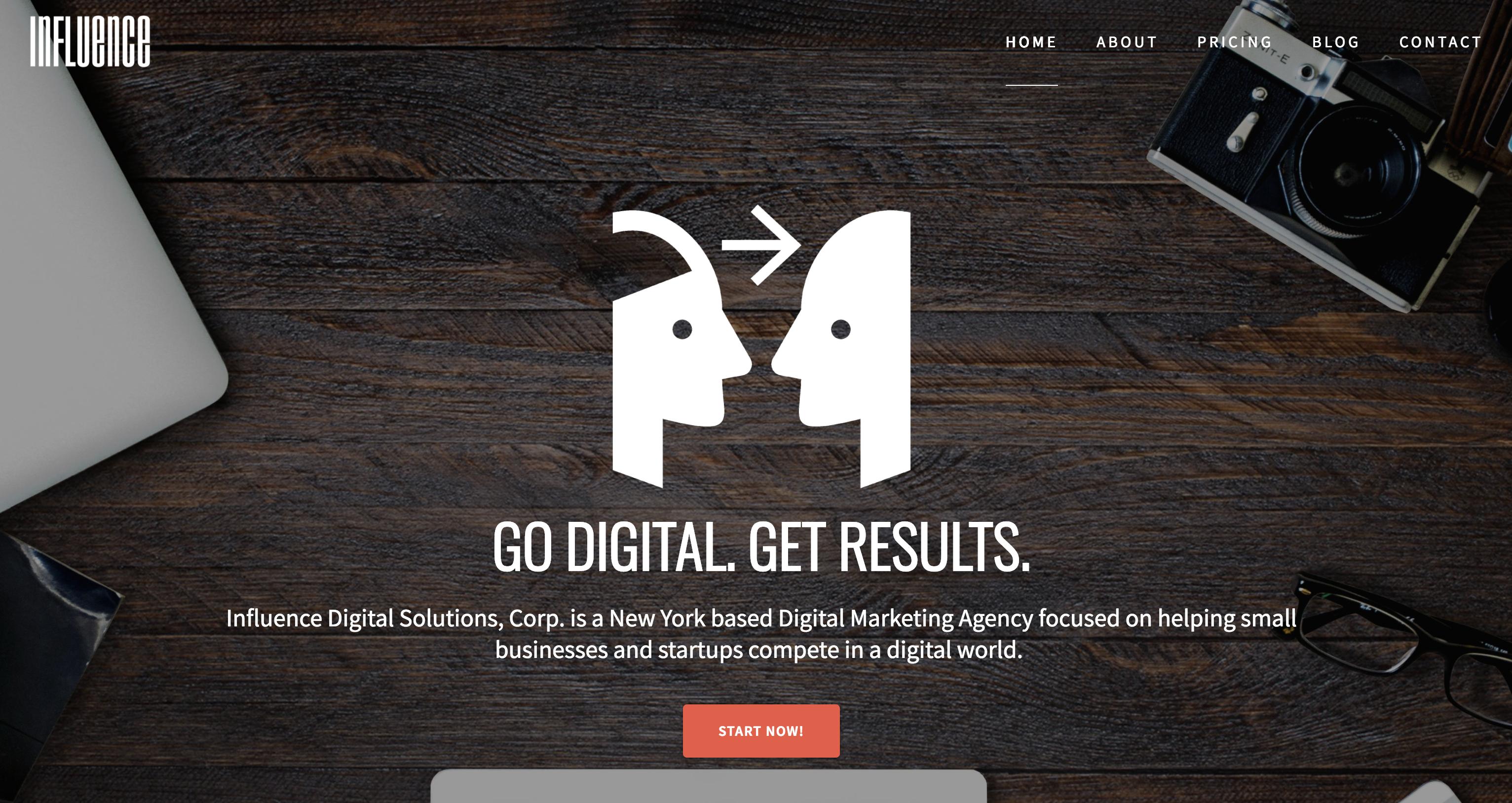 Influence Digital Solutions | Go Digital  Get Results